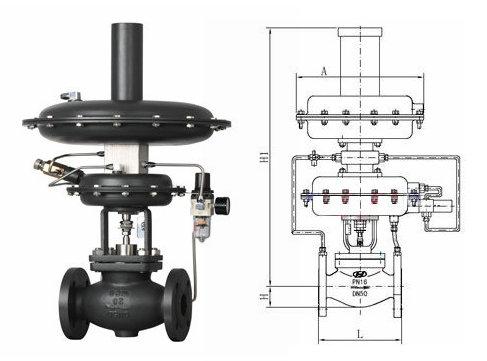 自力式氮封阀结构图